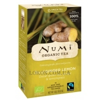 NUMI Organic Tea Decaffeinated Ginger Lemon - Зелёный чай