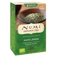 NUMI Organic Tea Mate Lemon Green - Зелёный чай
