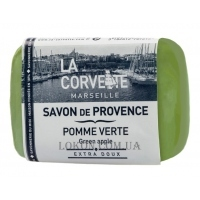 LA CORVETTE Provence Soap Green Apple - Прованское мыло