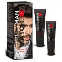 NOUVELLE Simply Man Match Hair Color Cream - Безаммиачная краска для мужчин