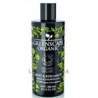 GREENSCAPE ORGANIC Bath and Shower Gel Mint & Bergamot - Гель для душа и ванны