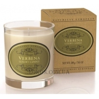 NATURALLY EUROPEAN Luxury Scented Candle Verbena - Ароматическая свеча