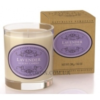 NATURALLY EUROPEAN Luxury Scented Candle Lavender - Ароматическая свеча