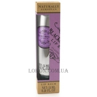 NATURALLY EUROPEAN Lip Balm Blackcurrant - Бальзам для губ