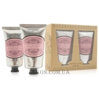 NATURALLY EUROPEAN Hand and Foot Collection Rose Petal - Набор кремов для рук и ног