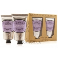 NATURALLY EUROPEAN Hand and Foot Collection Lavender - Набор кремов для рук и ног