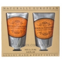 NATURALLY EUROPEAN Hand and Foot Collection Neroli & Tangerine - Набор кремов для рук и ног