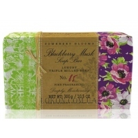 SOMERSET BLOOMS Blackberry Musk Triple Milled Soap - Мыло