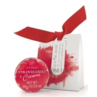 THE SOMERSET TOILETRY CO. Moisturising Lip Balms Strawberry & Cream - Бальзам для губ
