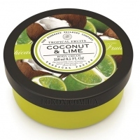 THE SOMERSET TOILETRY CO. Tropical Fruits Coconut & Lime Body Cream - Крем для тела