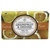 THE SOMERSET TOILETRY CO. Tropical Fruits Soap Triple Milled Grapefruit & Orange - Мыло