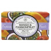 THE SOMERSET TOILETRY CO. Tropical Fruits Soap Triple Milled Mango & Passion Fruit - Мыло