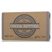 DELRAY BEACH Cocoa Butter Soap Triple Milled - Мыло