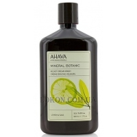 AHAVA Mineral Botanic Cream Wash Lemon Sage - Мягкий крем для душа