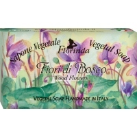 FLORINDA Vegetal Soap Wood Flowers - Натуральное мыло