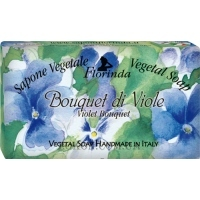 FLORINDA Vegetal Soap Violet Bouquet - Натуральное мыло
