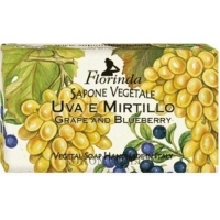 FLORINDA Vegetal Soap Grape and Blueberry - Натуральное мыло