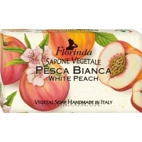 FLORINDA Vegetal Soap White Peach - Натуральное мыло