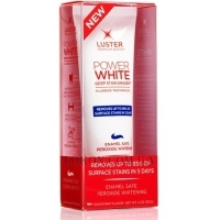LUSTER Toothpaste Power White - Зубная паста