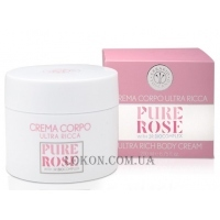 ERBARIO TOSCANO Pure Rose Body Cream - Восстанавливающий крем для тела