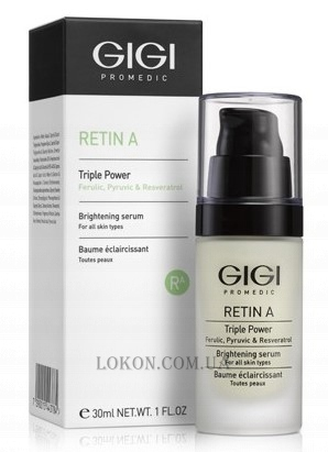 GIGI RetinA Triple Power Brightening Serum - Осветляющая сыворотка