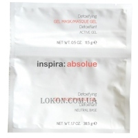 INSPIRA Absolue Detoxifying Gel Mask with Active Charcoal & Mint - Детокс гель-маска