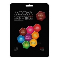BEAUTY FACE Mooya Complete Effect Pro Mask + Serum 10 Signs Youth - Маска+сыворотка