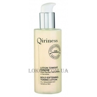 QIRINESS Gold Softening Toning Lotion - Тонизирующий лосьон