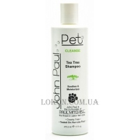 JOHN PAUL PET Tea Tree Shampoo - Лечебный шампунь с экстрактом чайного дерева