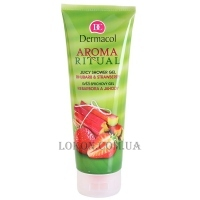 DERMACOL Aroma Ritual Rhubarb & Strawberry Shower Gel - Гель для душа