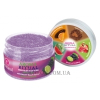 DERMACOL Aroma Ritual Stress Relief Body Scrub Grape And Lime - Скраб для тела
