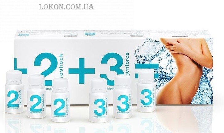 "PRIMIA Lipoxycel Professional ""Cold effect"" Step 2-3 - Охлаждающая процедура"