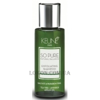 KEUNE So Pure Exfoliating Shampoo - Очищающий шампунь