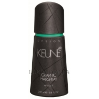 KEUNE Design Graphic Hairspray - Лак для волос