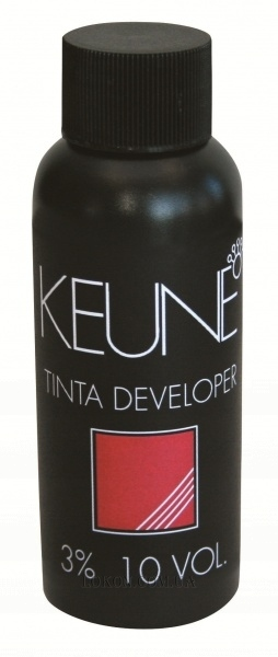 KEUNE Tinta Cream Developer 10 vol - Окислитель 3%