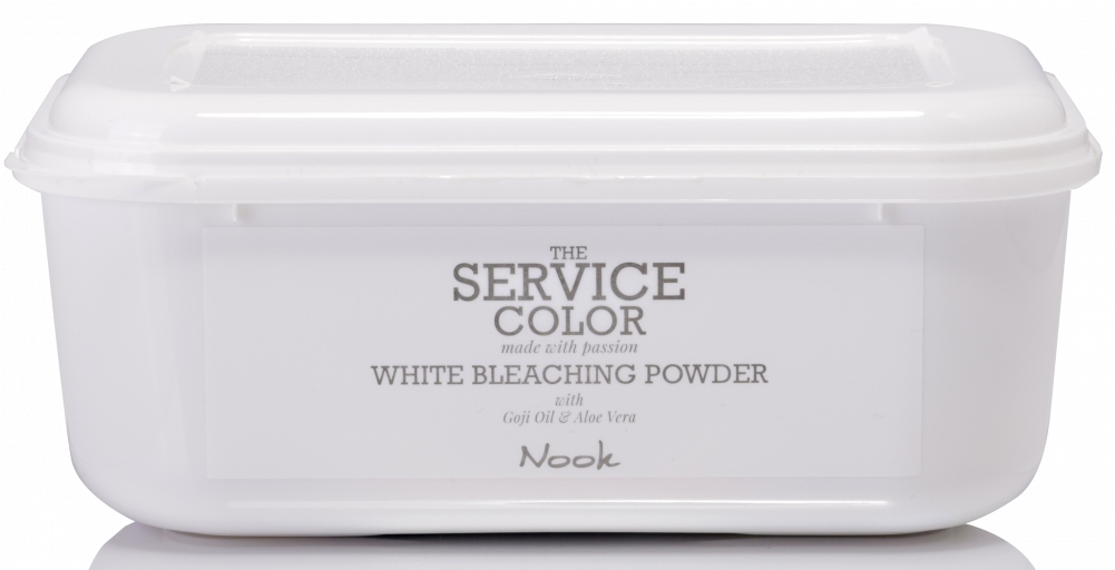 MAXIMA NOOK the Service Color White Bleaching Powder - Обесцвечивающая белая пудра