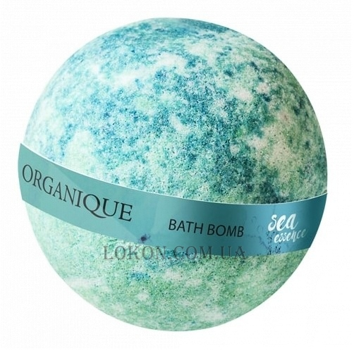 ORGANIQUE Effervescent Balls For Bath Sea Essence - Шипучий шар для ванны