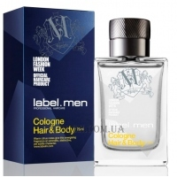 LABEL.M Men Cologne Hair & Body - Одеколон