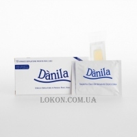 DANILA Cold Wax Strips For Face - Полоски холодного воска для лица