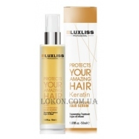 LUXLISS Keratin Protein Replenish Hair Serum - Кератиновое масло