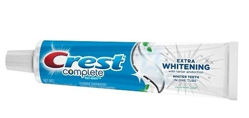 CREST Complete Multi-Benefit Extra Whitening Tartar Protection Clean Mint - Отбеливающая зубная паста