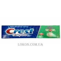 CREST Complete Multi-Benefit Toothpaste Extra Whitening Plus Scope Fresh Mint - Отбеливающая зубная паста