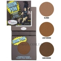 TheBALM BrowPow Eyebrow Powder - Пудра для бровей
