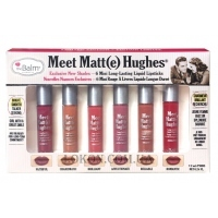 TheBALM Meet Matte Hughes Mini Kit 02 - Набор мини-помад № 2