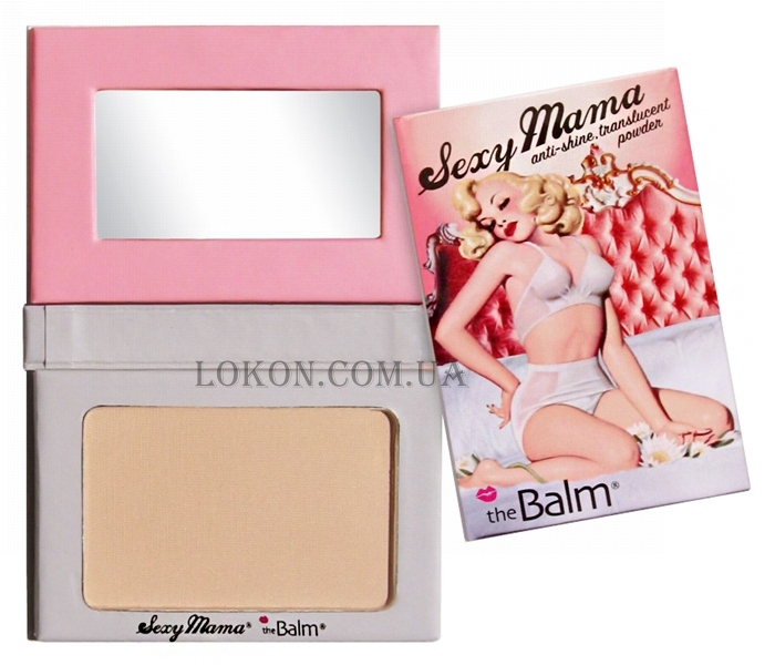 TheBALM Sexy Mama Anti-Shine Translucent Powder - Матирующая пудра