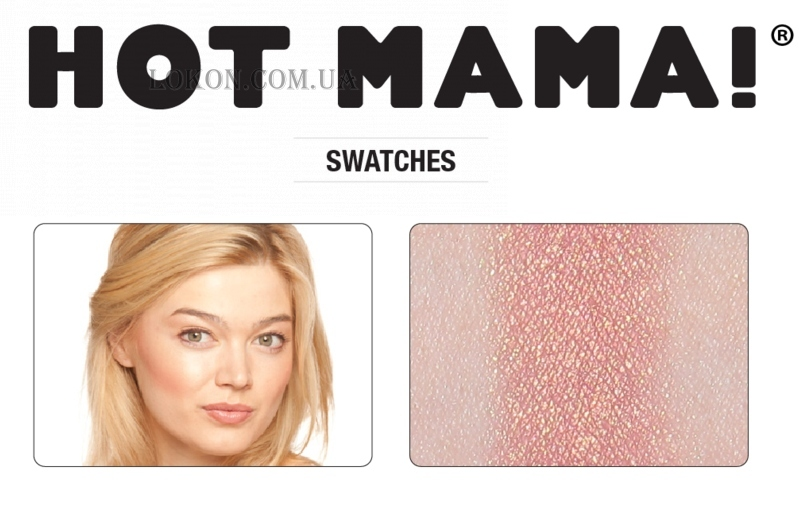 TheBALM Hot Mama - Румяна (тестер)