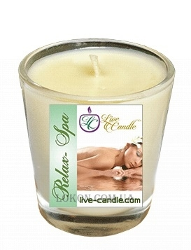 LIVE CANDLE Massage Candle Relax-Spa - Массажная свеча