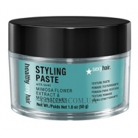 SEXY HAIR Healthy Styling Paste Texture Paste - Текстурирующая паста