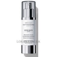 INSTITUT ESTHEDERM Esthe-White Brightening Youth Anti-Dark Spot Serum - Осветляющая омолаживающая сыворотка