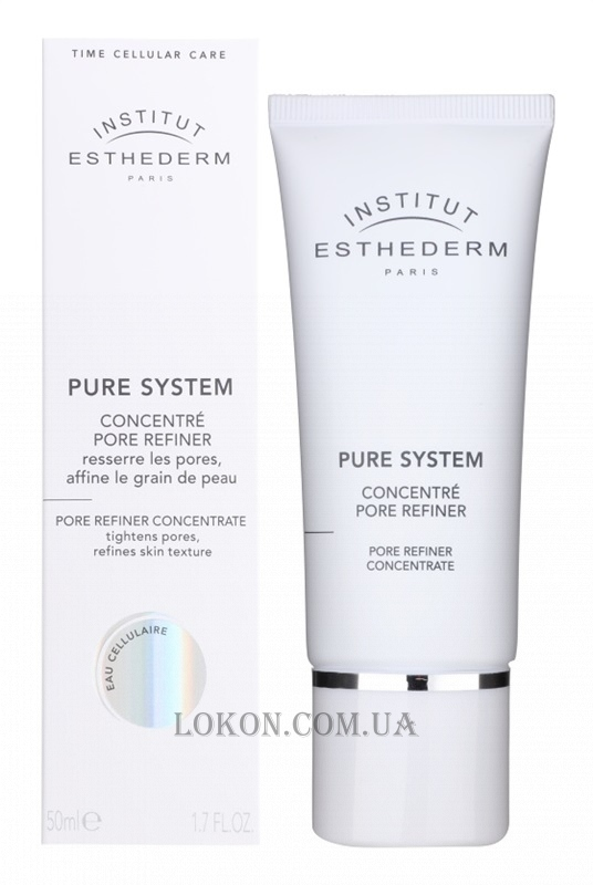 INSTITUT ESTHEDERM Pure System Pore Refiner Concentrate - Концентрат для сужения пор